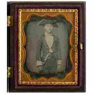[EARLY PHOTOGRAPHY - PORTRAITURE]. Ninth plate
