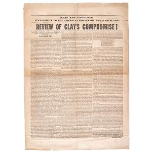 [COMPROMISE OF 1850]. The Supplement to the American