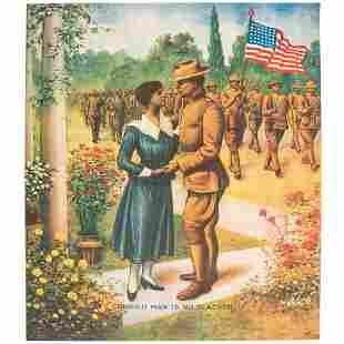 [WORLD WAR I]. Colored Man is No Slacker. Chicago: E.G.