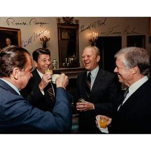 [POLITICS]. NIXON, Richard, Gerald FORD, Jimmy CARTER,