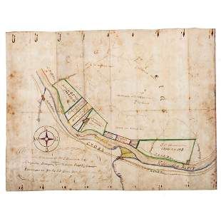[MAPS & ATLASES] - [WEST VIRGINIA]. SETTLE, Isaac J.