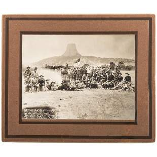 [LATE INDIAN WARS]. MCBRIDE, C.C., photographer. E