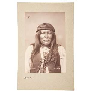 [NATIVE AMERICAN]. JACKSON, W.H. (1843-1942),