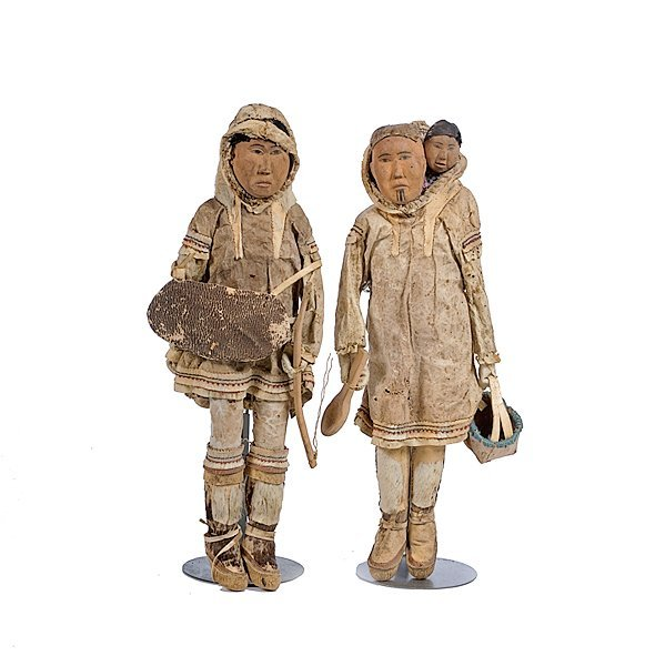 5: Mrs. George Ahgupuk Eskimo Dolls