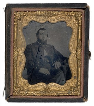 8: Ninth Plate Ambrotype of Navy Master