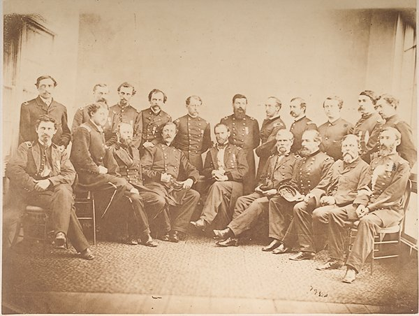 11: Photograph of General Sherman and His Staff