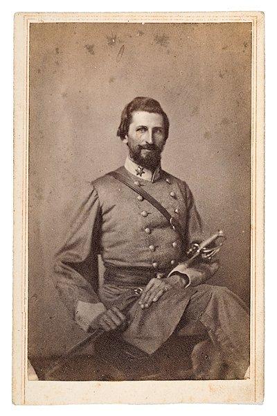 14: CDV of Confederate Major William T. Bradshaw