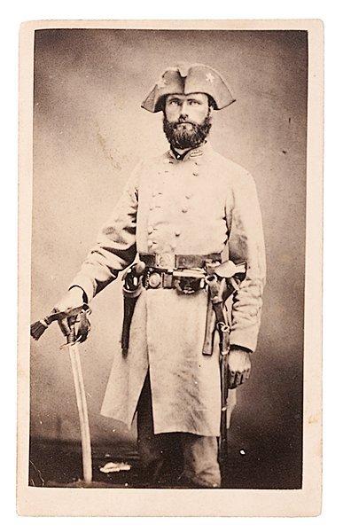 15: CDV of Brig, Gen. Richard M. Gano, CSA