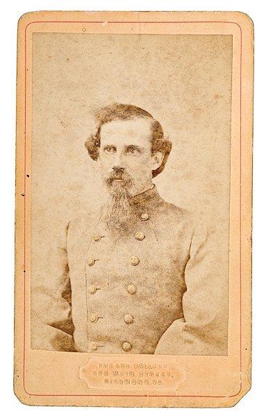 23: CDV of Unidentified Confederate Lieutenant