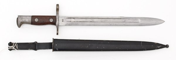 2: Spanish American War U.S. Krag Bayonet and Scabbard