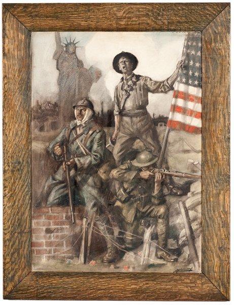 93: War Bond Poster by Lucien H. Jonas