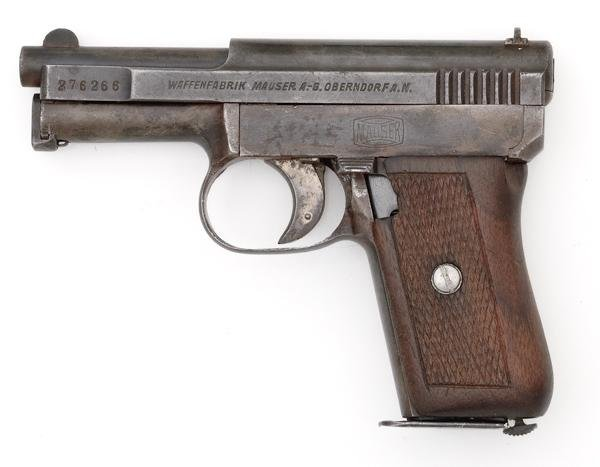 34: *Mauser Model 1910 Commercial Pistol