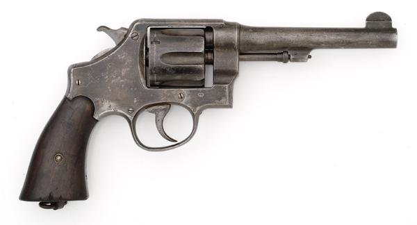 36: *WWI Smith & Wesson Model 1917 Revolver