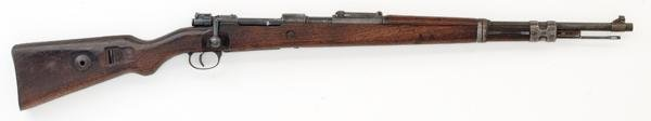 125: *WWII Nazi K98 Mauser Rifle with Portuguese Crest