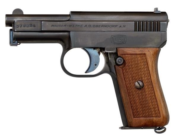 143: * German Model 1910 Mauser Semi-Automatic Pistol