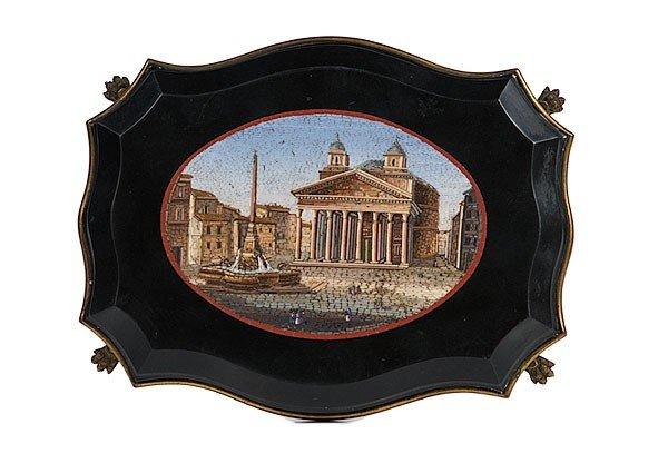 1: Italian Micro-mosaic of the Pantheon