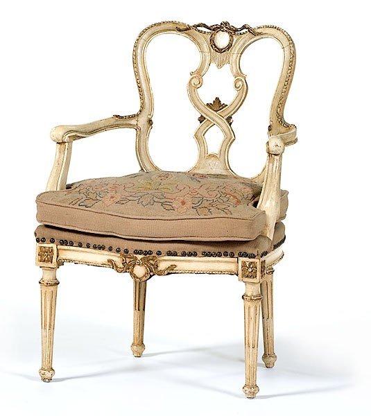 19: Italian Arm Chair
