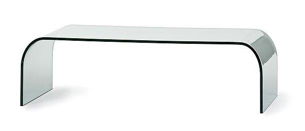 21: Italian Fontana Arte Glass Table