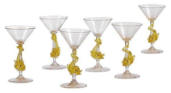 22: Venetian Glass Aventurine Wines