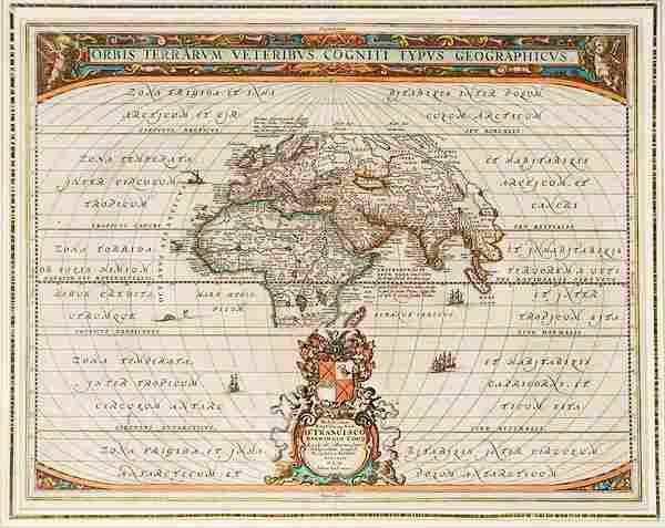 Maps of Journeys of Children of Israel & St. Paul