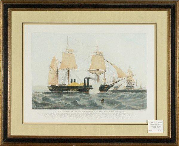 6: Ship Battle Scene by Henry Papprill