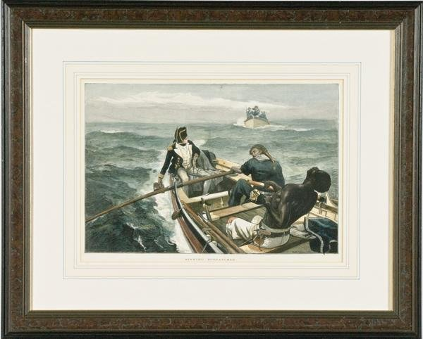 12: Nautical Scene by William Overend, Lithograph