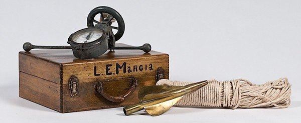 24: Nautical Taffrial Log in Original Box marked L. E.