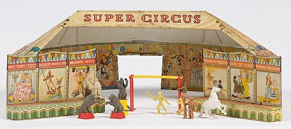 449: Louis Marx Tin Super Circus