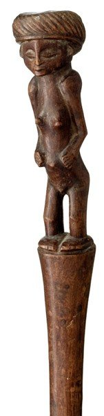 667: African Chokwe Wooden Staff - 2