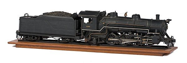 2: Railroad Model Locomotives, Tender and Cargo