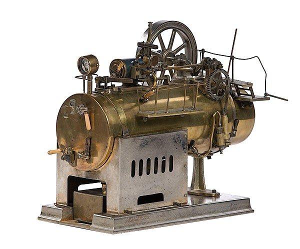 5: H.E. Boucher Steam Engine Model