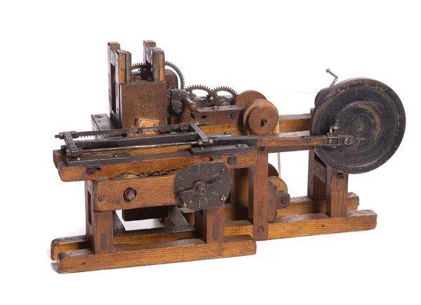 6: Sawmill Patent Model