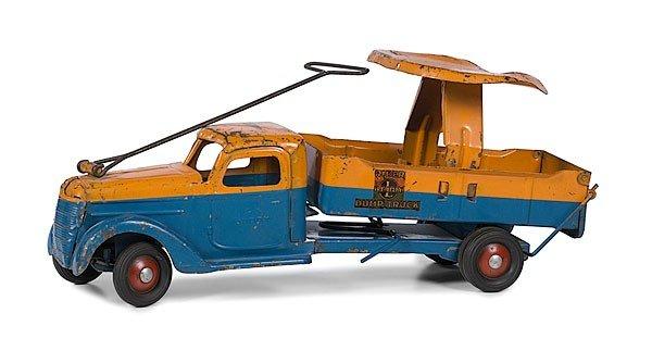 8: Buddy L Sit-N-Ride Dump Truck