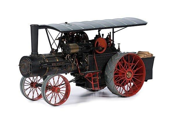 11: W.R. Brenneke Steam Tractor