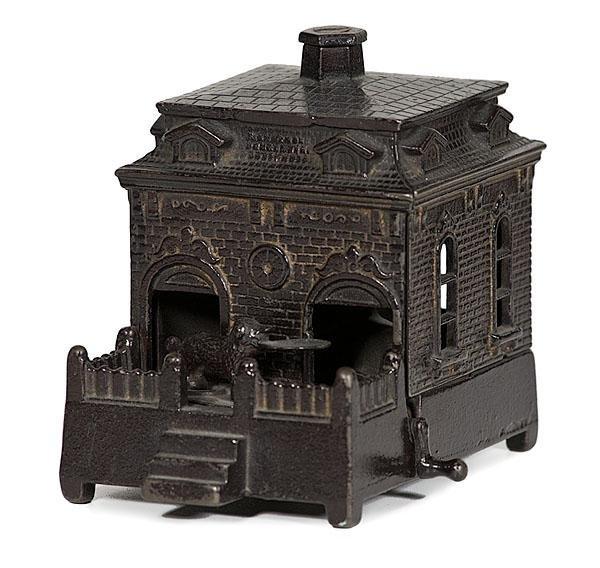 12: Mechanical Bank, Dog on Turntable