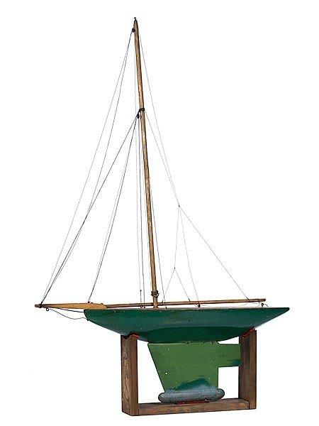 18: Michigan Pond Sailboat