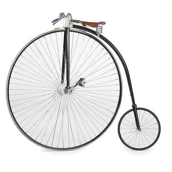 """20: Rudge & Co. """"Penny Farthing"""" Bicycle"""