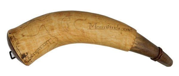 9: Frederick Humphry/1776 Engraved Powder Horn