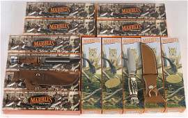670: Marbles Fixed Blade Knives, Lot of 13