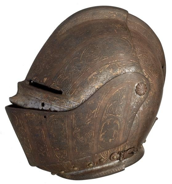 714: Italian 16th Century Milanese Helmet
