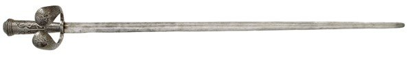 716: Italian 17th Century Long Sword