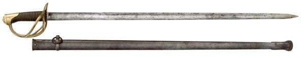994: French Model 1820 Cuirassier's Sword