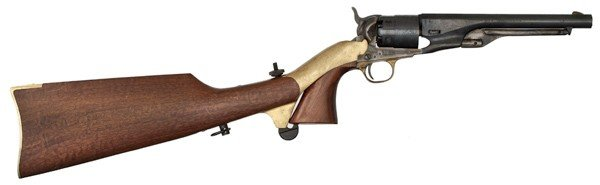 1155: Navy Arms Reproduction Colt 1860 Army with Should