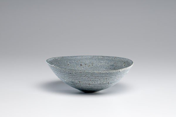14: Lucie Rie, Blue Spotted Stoneware Bowl