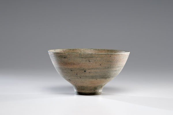 15: Lucie Rie, Matte Pink Stoneware Bowl