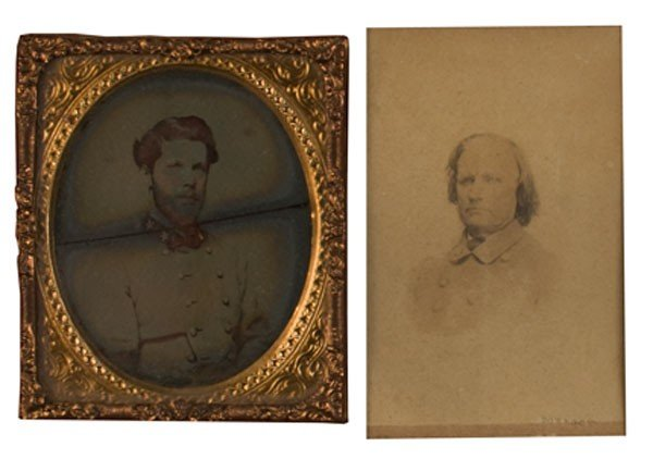 14: Two Framed Confederate Images