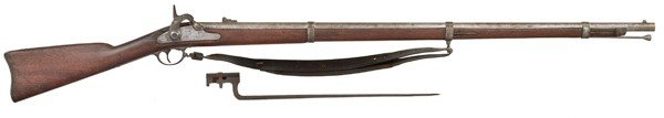 120: Springfield 1861 Rifle Musket