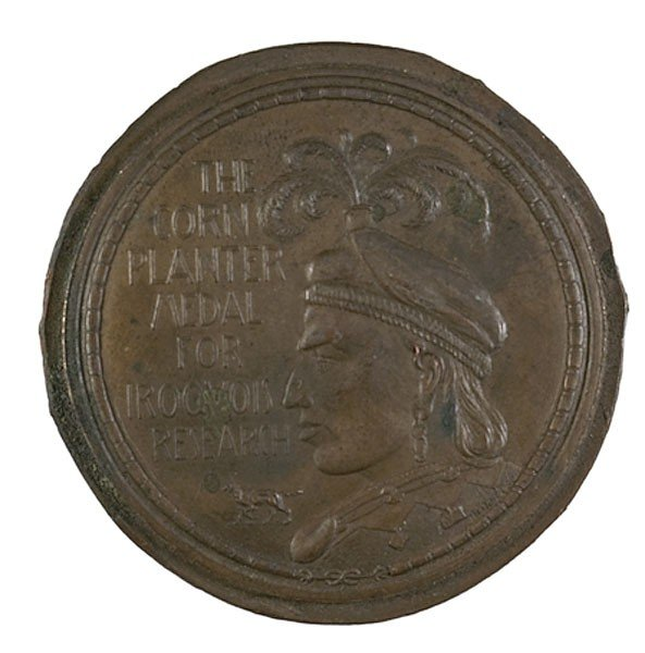 456: Cornplanter Medal for Iroquois Research, Tiffany