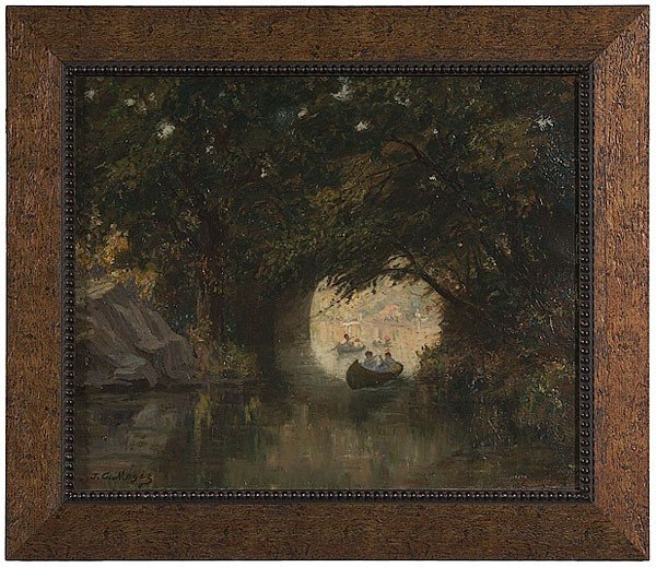3: Landscape by James C. Magee, Oil on Canvas