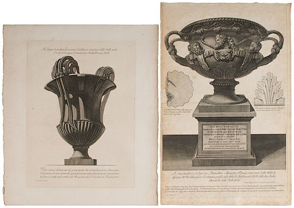 2: Architectural Etchings by Giovanni Battista Piranesi
